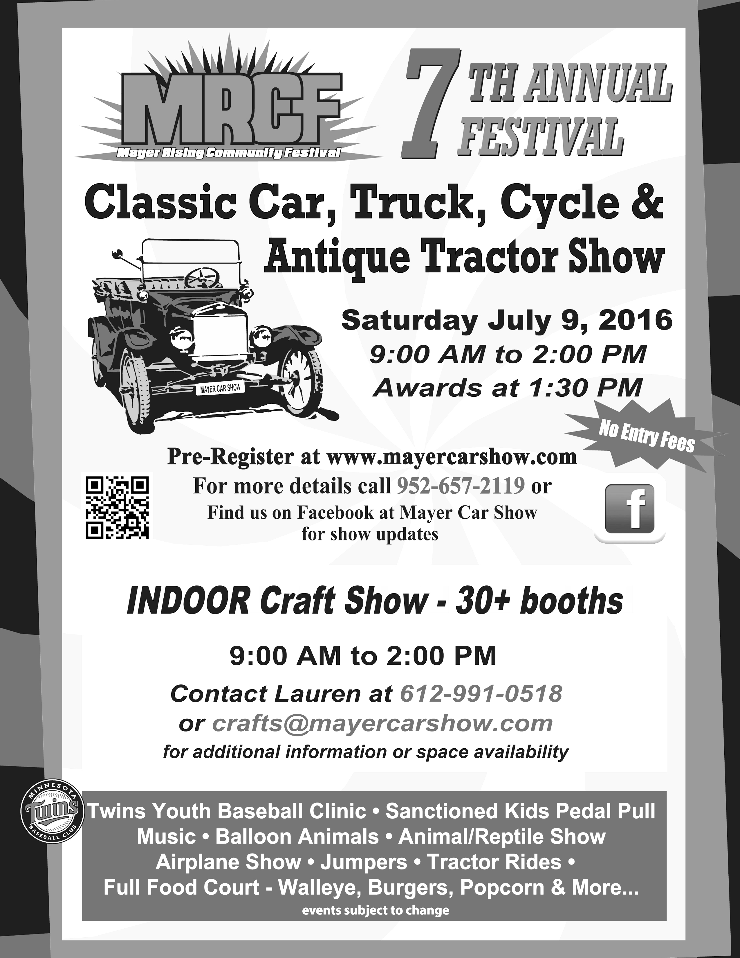 Car Show Poster